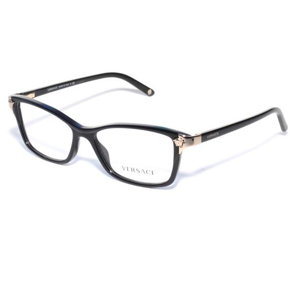 0157d09306e5 Versace Eyeglasses 3156 GB1 53 15 Black Frame. M 5ac542a761ca10ac0f59f14f